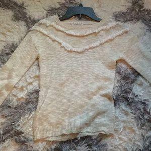 Cute White Sweater